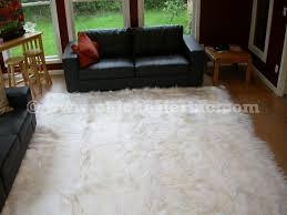 kidassia rugs or white goatskin rugs or white goat rugs or kidassia goat rugs