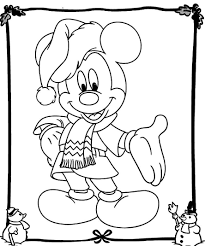 The disney christmas coloring sheets showcase all your favorite characters celebrating the festive season in the best way possible. Mickey Mouse Christmas Coloring Pages Best Coloring Pages For Kids