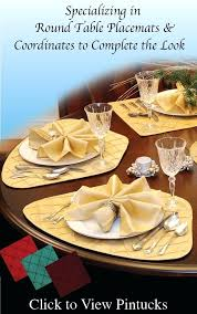 best placemats for round table round table wedge sweet pea linens made wedge for round table table placemats size