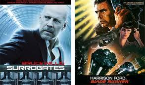 Surrogates Movie Blogs Now Or Then Surrogates Or Blade Runner Amc