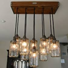 rustic ceiling lights. Furniture, Overwhelming Rustic Ceiling Lights Brown Wood Base Metal Fixture Bronze Finish Clear Glass