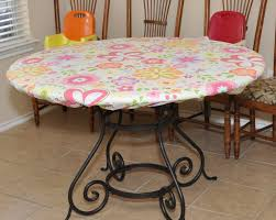 accessories incredible round white vinyl elastic table covers colorful flower cover motif round table top dark