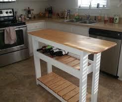 DIY Kitchen Island with Wine Rack (Step-by-Step)