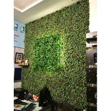 pp wall artificial grass rs 75 square