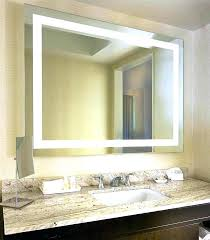 bathroom mirrors with lights behind mirror light for makeup table countertop magnifying vanity lighted makeup mirror
