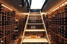 View in gallery Simple and elegant way to transform your basement into a wine  cellar