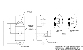 Ms21059 Mil Spec Hardware Specification Supplier Mil