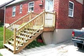 exterior wood railing backyard wood stairs outside wood stairs outdoor wood railings for stairs modern home