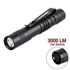 Sale 73% Đèn pin có đèn LED CREE Q5 ánh sáng 3000 Lm dùng bằng pin AAA, Giá  gốc 57000đ - 3H37 - Đèn pin