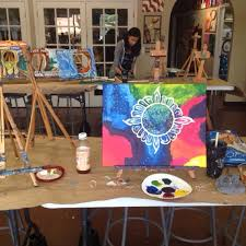 photo taken at painting with a twist westheimer by michael h on 6