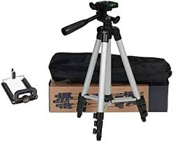 3110 <b>Portable</b> and <b>Foldable</b> Tripod with <b>Mobile</b> Clip Holder <b>Bracket</b>