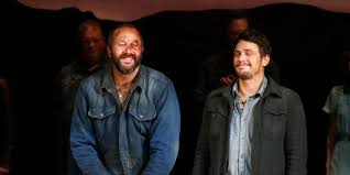 watch a scene from james franco and chris o dowd s moving of mice watch a scene from james franco and chris o dowd s moving of mice and men