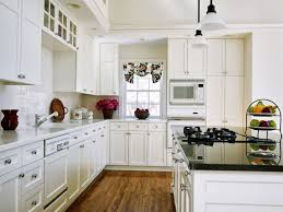 gallery of captivating kitchen remodel ideas with custom white kitchen cabinet plus island granite countertops and tiled backsplash over white pendant