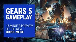 Gears 5 Gameplay 16 Minute Preview Of The Horde Mode