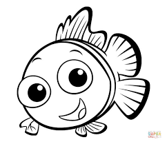 Small Picture Small Fish coloring page Free Printable Coloring Pages