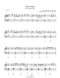 In this tutorial, you will learn how to play the classic song, piano man by billy joel on piano and keyboard. Billy Joel Piano Man Sheet Music For Piano Best Music Sheet