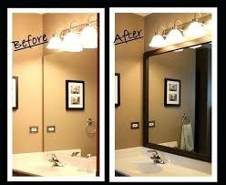 diy bathroom mirror frame. Diy Bathroom Mirror Ideas Best Framed Mirrors On Frame