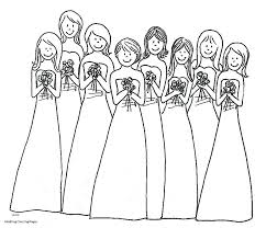 Coloring Pages Dress Coloring Pages Barbie Wedding Dresses Ideas