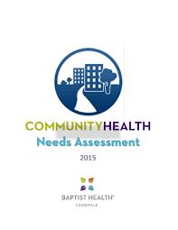 2015 Baptist Health Louisville Community Health Needs