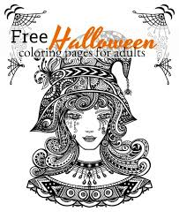 Are you ready for a little spooky fun. Halloween Coloring Pages For Adults To Print And Color