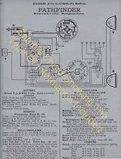 studebaker car truck vintage charging starting system 1921 24 studebaker big and special 6 wiring diagram electric system specs 619