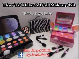 how to make a doll makeup kit