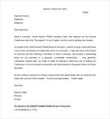business sponsor letter template. Sponsorship Letter Template 8 Free Word PDF Documents Download
