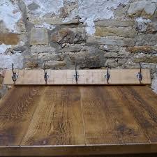 5 Hook Coat Rack Impressive Sherwood Plank Rustic Wood 32 Hook Coat Rack From Curiosity Interiors