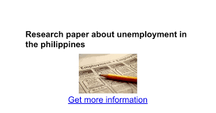 research paper about unemployment in the google docs