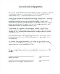 Confidentiality Agreement Samples It Confidentiality Agreement Template Vitaminac Info