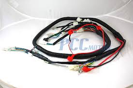 chinese gy6 250cc wire harness wiring assembly scooter moped sunl sunl 50cc atv wiring harness at Sunl Wiring Harness