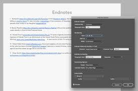Endnotes References How To Add Endnotes To A Document Adobe Indesign Tutorials