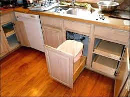 Under Cabinet Trash Can Pull Out Kitchen  Bins Shelves Garbage Bin Undercounter  Trash Can Cabinet Insert A74