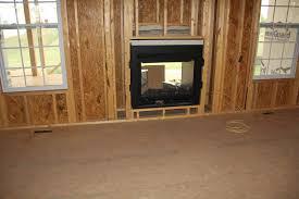 indoor outdoor fireplace barn