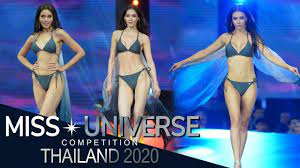 TOP 10 Swimsuit Competition | Miss Universe Thailand 2020 - YouTube