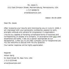 Samples Of Appointment Letter For An Employee Sample Appointment Letter Smart Letters