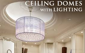 luxurious lighting. molding for indirect lighting ceiling domes with luxurious r