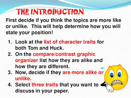 compare and contract essay 5 the introduction