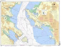 Noaa Nautical Chart 18653 San Francisco Bay Angel Island To Point San Pedro