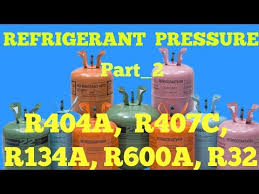 Gas Charging Pressure R404a R407c R134a R600a R32 Youtube