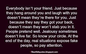 Best Quotes Jealousy Friendship