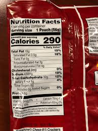 this cheez it nutrition label made me think of ios11 i redd it