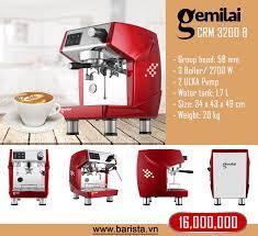 Máy pha cà phê CRM 3200 B - BARISTA VIET NAM