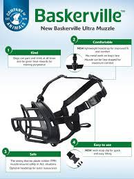 Baskerville Muzzle Size Chart Baskerville Ultra Muzzle Company Of Animals