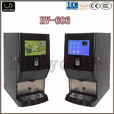 Tea Coffee Vending Machine Stunning China Hv48 Deluxe Office Use Tea Coffee Vending Machine China
