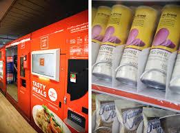 Vending Machine Restaurant Singapore New Singapore's First Vending Machine Café At Ang Mo Kio MRT Station SHOUT