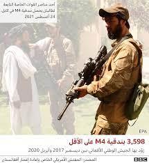 أفغانستان: ما الذي خلّفته القوات الأمريكية وراءها من معدات عسكرية؟ - BBC  News عربي