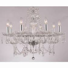 decoration projection crystal chandelier lighting