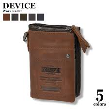 device device purse two fold put the wallet mens wallet leather mens wallet brand long