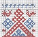 Славянские обереги вышивки крестиком